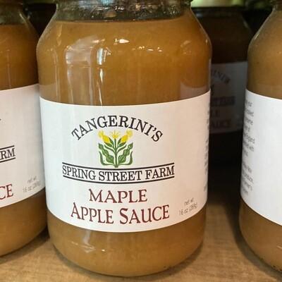 Maple Apple Sauce | Tangerini's Own