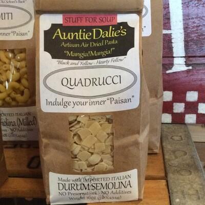 Quadrucci | Auntie Dalie's Pasta