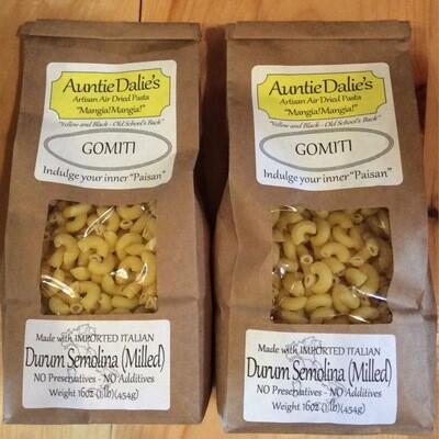 Gomiti | Auntie Dalie's Pasta