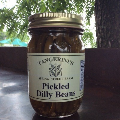 Pickled Dilly Beans | Tangerini's Own