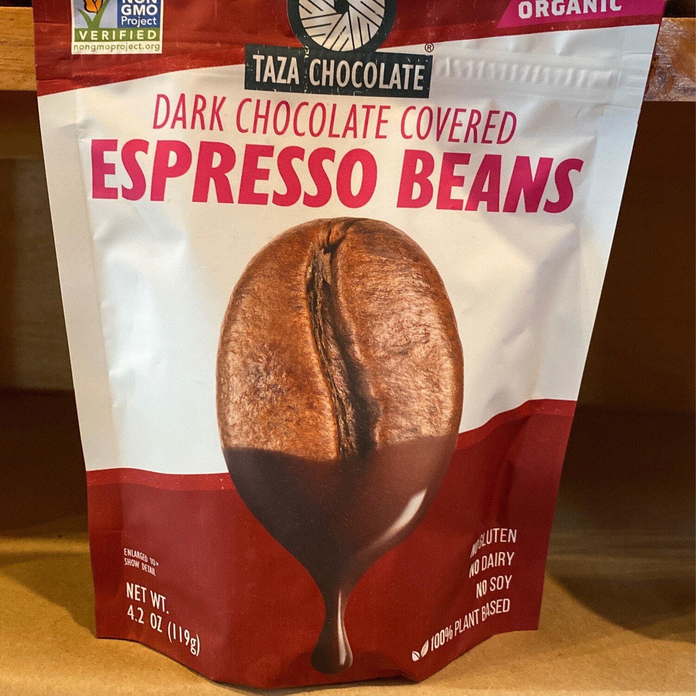 Taza Dark Chocolate Covered Espresso Beans | 4.2oz