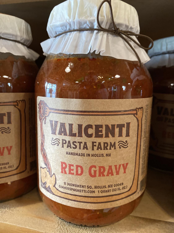 Valicenti Sauce  Red Gravy