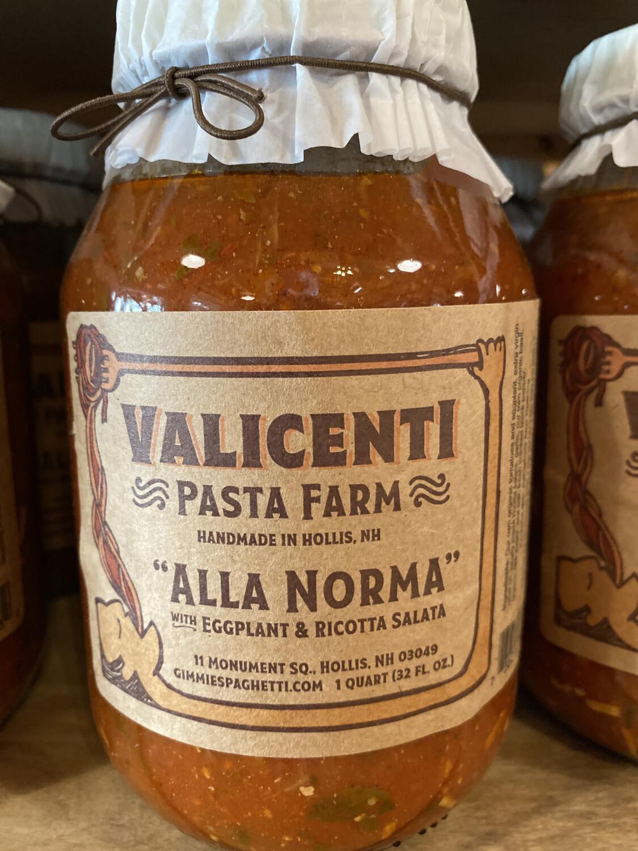Valicenti Sauce | Alla Norma