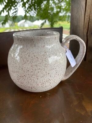 White Ceramic Mug   Item #215   Sea Changes Ceramics