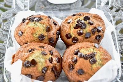 FP Banana Chocolate Chip Muffins | 4 Pack
