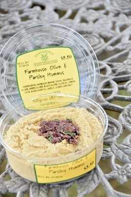 FP Parsley and Olive Hummus
