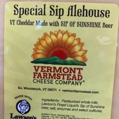 Special Sip Alehouse Cheddar | 7oz | Vermont Farmstead