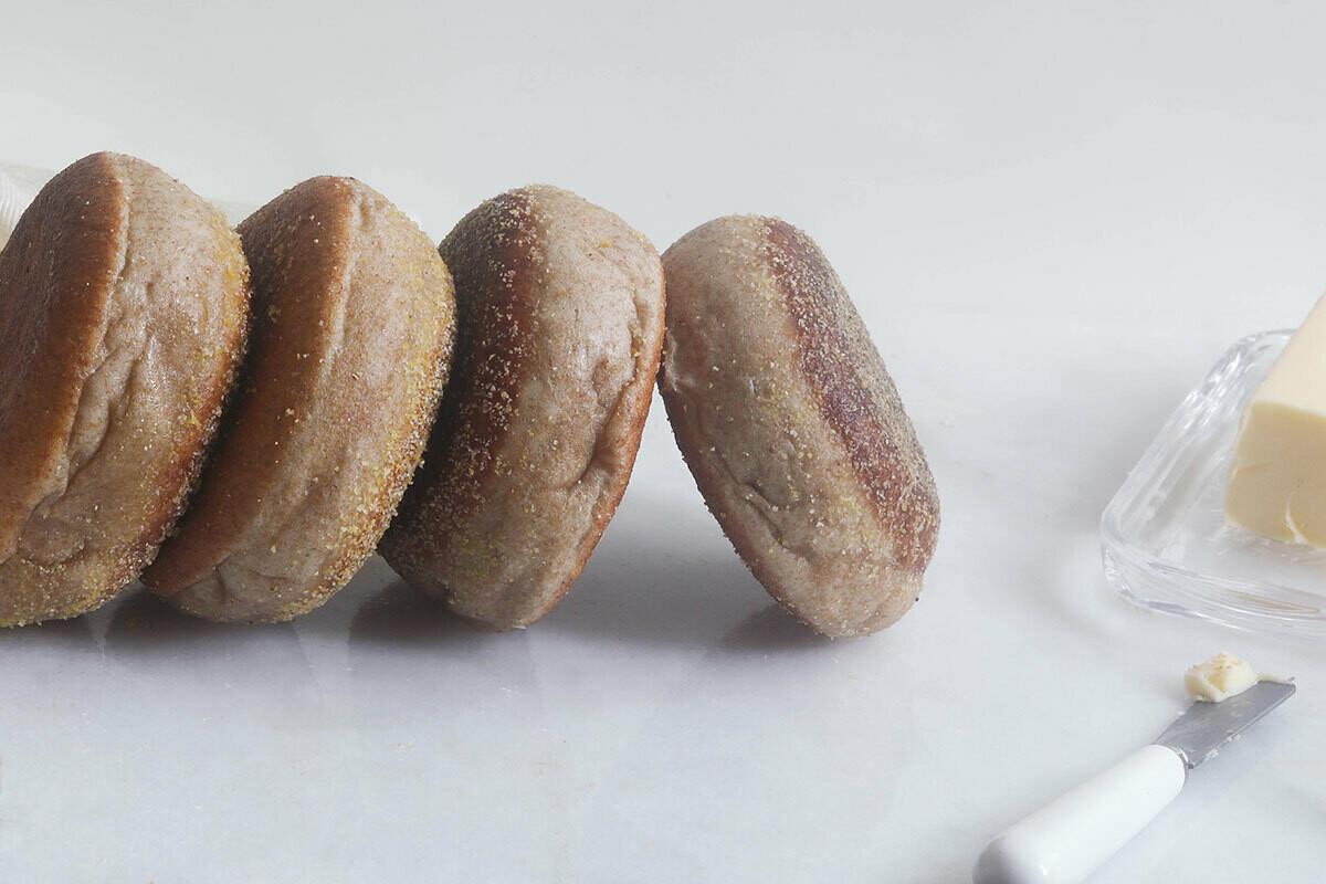 Wheat English Muffins | 4 Pack | OMG Bakery
