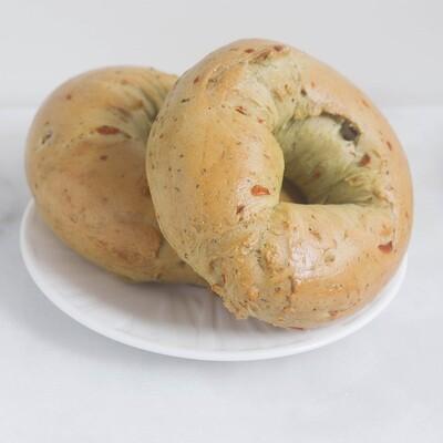Vegetable Bagels | 1/2 Dozen | OMG Bagels
