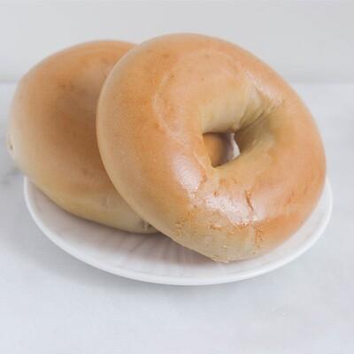 Plain Bagels | 1/2 Dozen | OMG Bagels