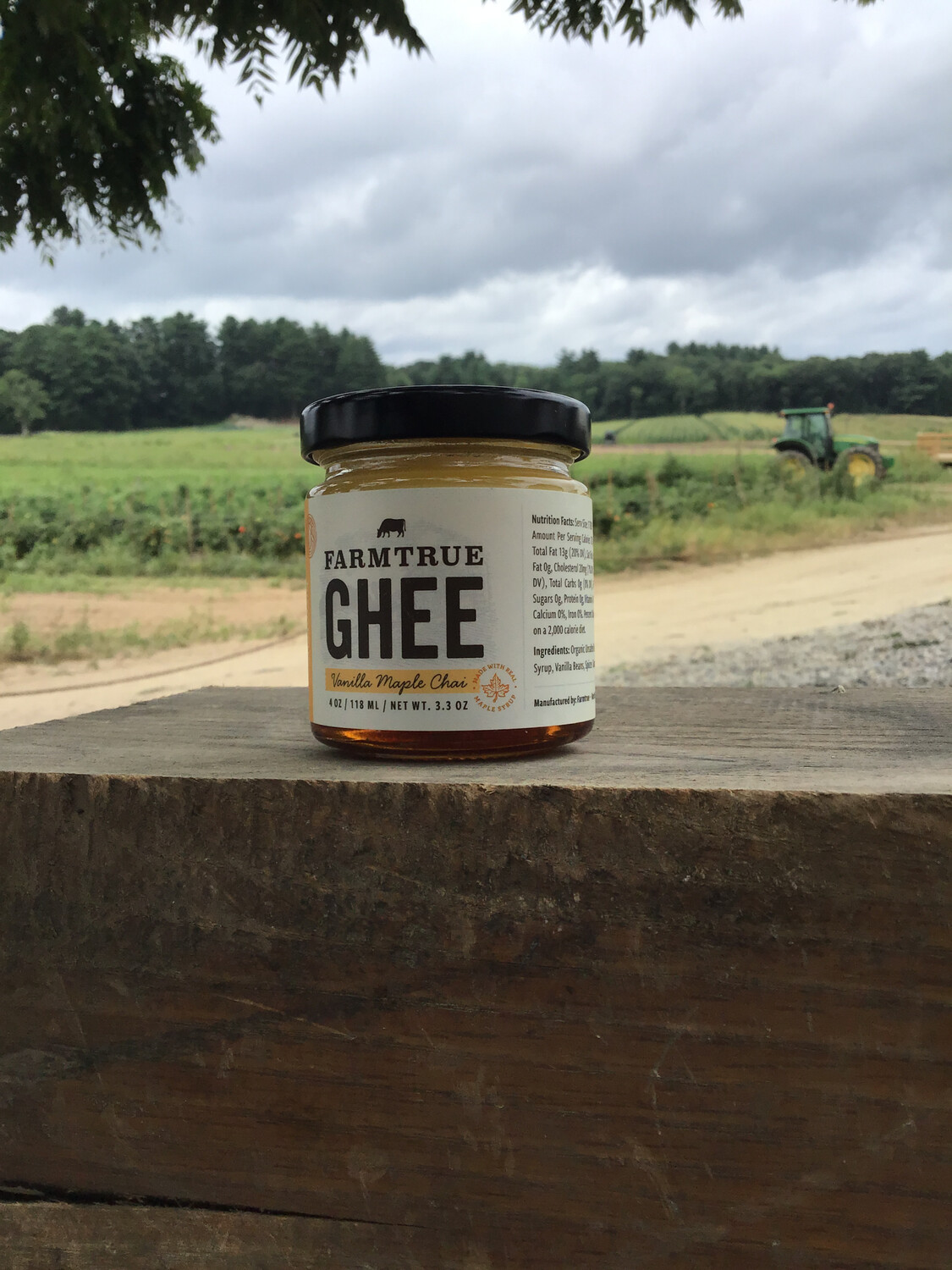 farmtrue GHEE | Vanilla Maple Chai | 4oz