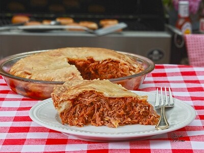Small BBQ Pulled Pork Pie | Centerville Pie Company