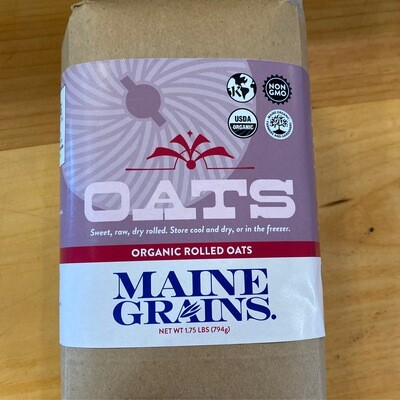 Organic Rolled Oats | Maine Grains
