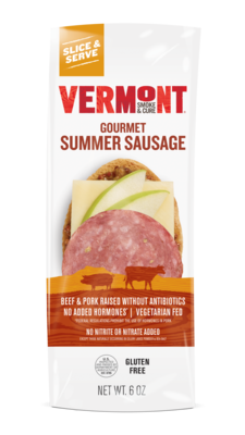 Vermont Smoke & Cure | Gourmet Summer Sausage