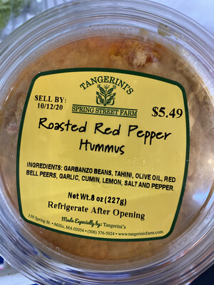FP Roasted Red Pepper Hummus