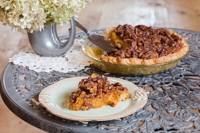 FP Homemade Sweet Potato Pecan Pie