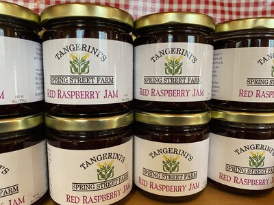 Red Raspberry Jam | Tangerini's Farm