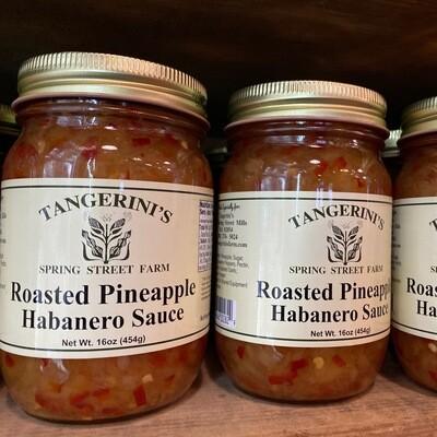 Roasted Pineapple Habanero Sauce | Tangerini's Own