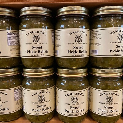 Sweet Pickle Relish | Tangerini's Own