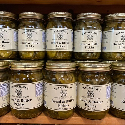Bread and Butter Pickles | Tangerini's Own