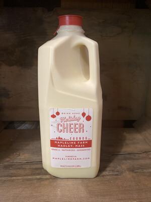 Eggnog | 1/2 Gallon | Mapleline Dairy