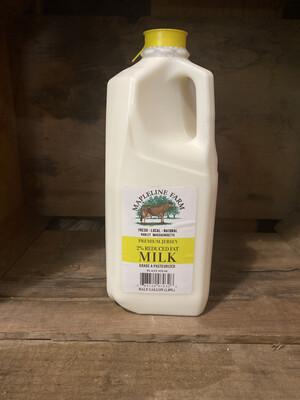 2% Milk | 1/2 Gallon | Mapleline Dairy