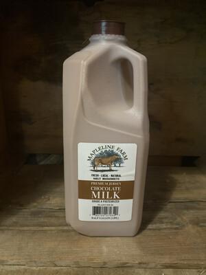 Chocolate Milk | Half Gallon | Mapleline Dairy
