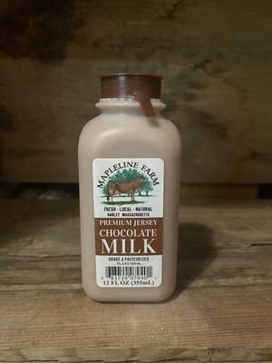 Chocolate Milk | 12oz | Mapleline Dairy