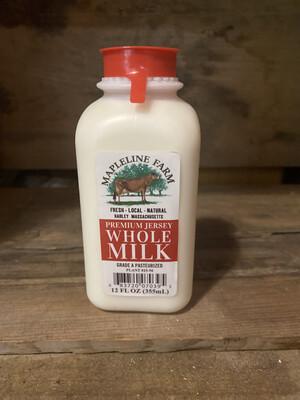 Whole Milk | 12oz | Mapleline Dairy