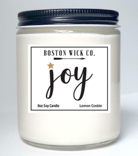 Boston Wick Candle Co.   Joy