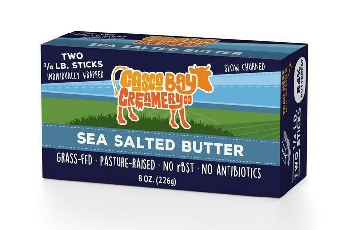 Sea Salted Butter | Casco Bay