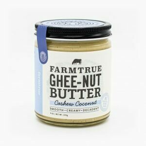 Cashew Coconut Ghee-Nut Butter | farmtrue