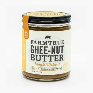 Maple Walnut Ghee-Nut Butter | farmtrue