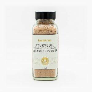 farmtrue   Ayurvedic Probiotic + Pearl Cleansing Powder