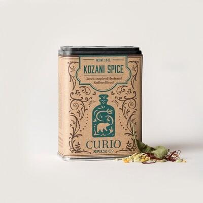 Kozani Spice - Greek Saffron & Herb Blend   Curio Spice Co.