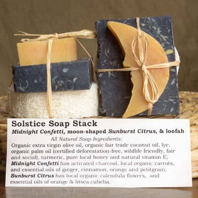 Solstice Soap Stack   Sweet Suds Soap
