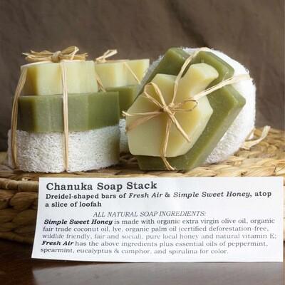 Chanuka Soap Stack   Sweet Suds Soap