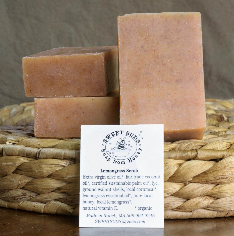Lemon Grass Scrub   Sweet Suds Soap