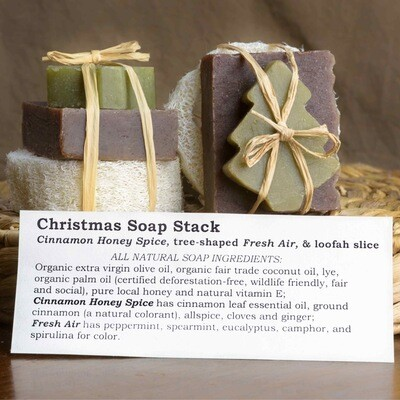 Christmas Soap Stack   Sweet Suds Soap
