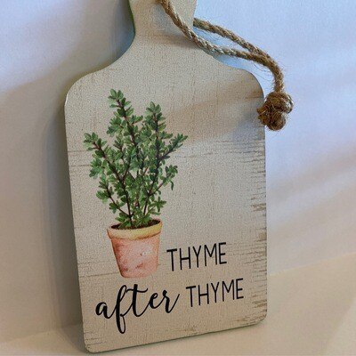 """""""Thyme"""" after """"Thyme""""   Tree Ornanment   Ganz"""