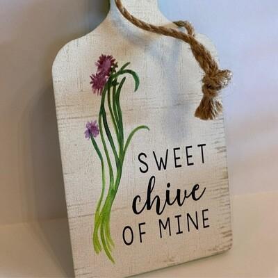 "Sweet ""Chive"" of Mine   Tree Ornanment   Ganz"