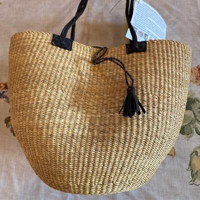 Medium Africa Fair Trade Bolga Basket   Item 4a