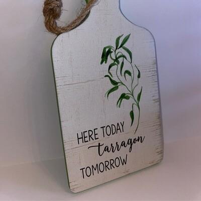 "Here Today, ""Tarragon"" Tomorrow   Tree Ornanment   Ganz"