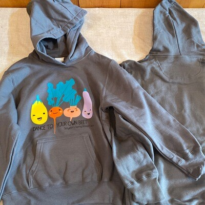Charcoal Dance to Your Own Beet Hoodie