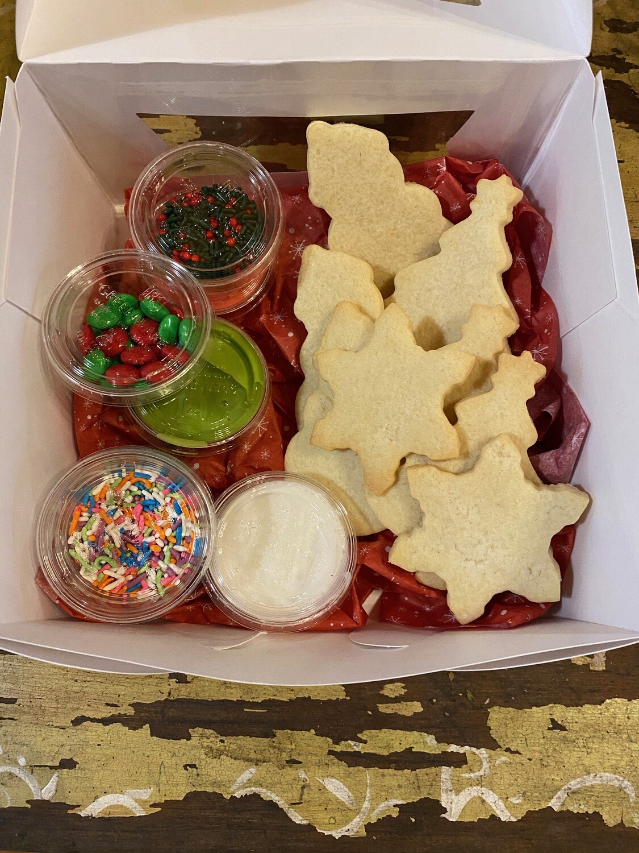 FP Christmas DIY Sugar Cookie Decorating Kit