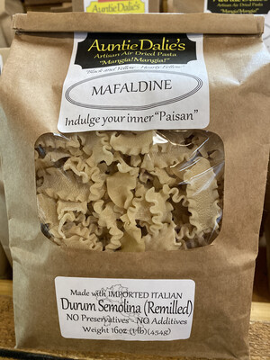 Mafaldine | Auntie Dalie's Pasta