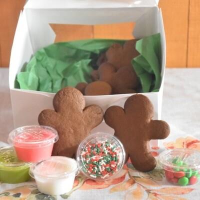 FP Christmas DIY Gingerbread Man Decor Kit | 6 Cookies