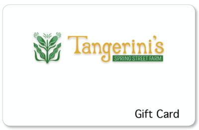 Tangerini's Gift Card