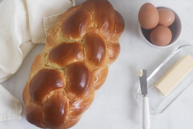 Braided Challah Bread   OMG Bakery
