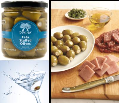 Divina Feta Stuffed Olives
